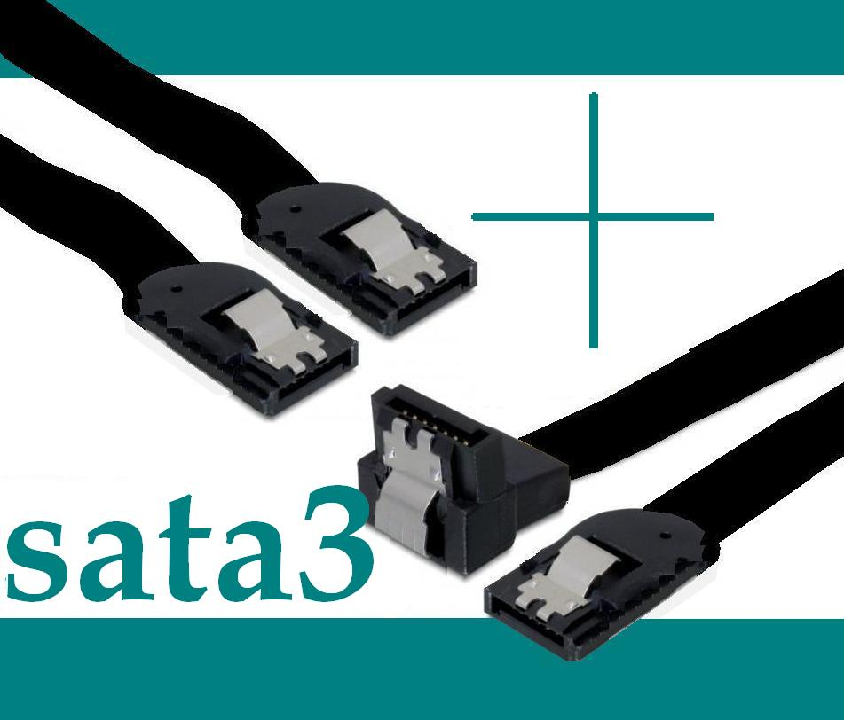 5x-Asus-SATA3-Daten-Kabel-50cm-Winkel-Clip-S-ATA3-6-Gbs-600-Set-5-Stueck-NEU-OVP